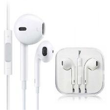 Autentico di Apple iPhone 5s 5c 6 6s IPOD AURICOLARE Earpods Cuffie Vivavoce Con Microfono