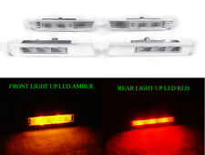 DEPO JDM Clear 4 Pieces LED Side Marker Lights Lamp For 2004-2008 Acura TL