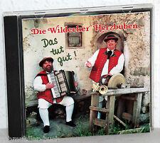 CD DIE WILDECKER HERZBUBEN - Das tut gut!