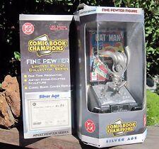 1996 Pewter Comic Book ChampionsDC Comics Batman Robin 1934  Figure MIB