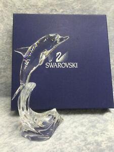 Swarovski Crystal Maxi Dolphin - 7644000004 / 221628.  Retired 2004.