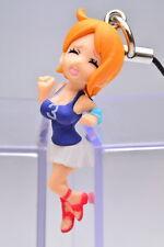 Bandai One Piece Hasamare Phone Strap Mascot Nami Figure