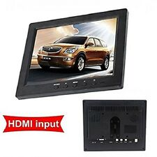 MONITOR 8 POLLICI TFT LCD COLORE SCHERMO HD HDMI VGA BNC BNC AUDIO