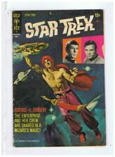 Gold Key Comics Star Trek #10 VG/F- 1971