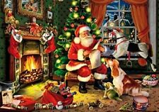Wentworth Christmas Puzzle 250 Piece Santa Claus Wooden Xmas Holiday Jigsaw