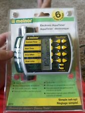 MELNOR AQUATIMER 3015 6-CYCLE MICRO-SPRINKLER WATER IRRIGATION Hose CONTROL NEW