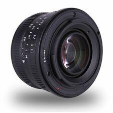 Kaxinda 25mm F/1.8 APS-C Manual Focus Fixed Lens For Fujifilm Cameras XT1 XT2