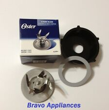 Original Oster 6 Point Fusion Blade And Oster Base Cap With Sealing Ring! 4980