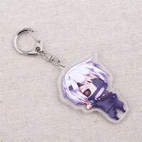 Anime Tokyo Ghoul Keychain Ken Kaneki Mask Key Rings Fans Favors Fashion Gift