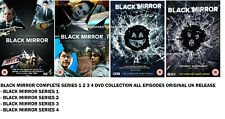 BLACK MIRROR COMPLETE SERIES 1-4 DVD SEASON 1 2 3 4 ORIGINAL UK RELEASE NEW R2 x