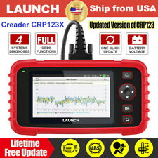 US Launch Car OBD2 Code Reader Auto Diagnostic Scan Tool Engine Check ABS SRS AT