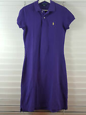 RALPH LAUREN sz M (or 12 ) womens purple polo dress