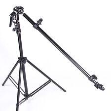Photo Studio Reflector Arm Boom Bracket Holder Swivel Head +  Light Stand Tripod