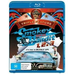 Smokey And The Bandit 1,2 & 3 Triple Feature Blu-ray BRAND NEW Region B