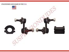 4PC Front Sway Bar Links Bushings 2001 Honda Civic 05-06 Acura RSX K90454 K90455
