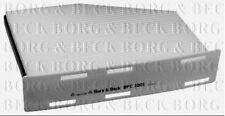 BFC1001 BORG & BECK CABIN AIR FILTER fits Audi A3, Seat. VW Caddy, Golf