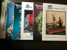 Mineralogical Record Periodical, Full Year 1998, Six Issues