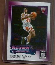 2017-18 Scottie Pippen Donruss Optic Retro Series Chicago Bulls W/ Jordan #14 SP