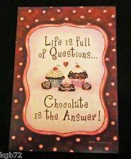 Leanin Tree Birthday Greeting Card Multi Color R119 Chocolate