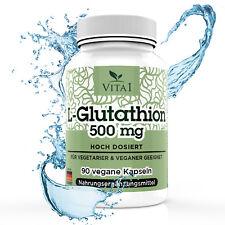 L-glutatión, 90 cápsulas de dosis elevadas 250mg made in Germany, aminoácidos