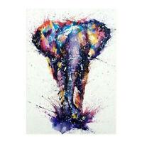 30*40cm 5D Diamond Painting Elephant Embroidery Cross Stitch Home Wall Decor US
