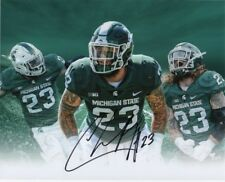 Chris Frey #23 Michigan State Spartans Olb Collage Signed Auto 8x10 Photograph ~