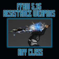 FFXIV 5.35 Relic Resistance Weapons ANY CLASS