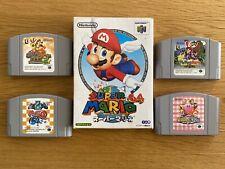 5 Nintendo N64 Japanese Games NTSC-J (Mario 64/Banjo/Kirby) Job Lot!