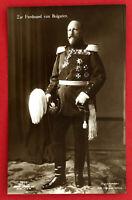 Foto AK ADEL um 1910 Zar Ferdinand von Bulgarien in Uniform mit Orden  ( 66951