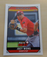 Joey Wong 2018/19 Australian Baseball League card - Perth Heat