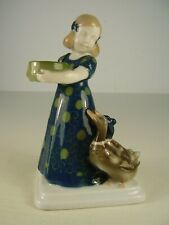 Antike Rosenthal Porzellan Figur Art Deco Nr. H 256.   18