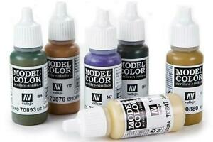 Vallejo Model Color Acrylic Paints - 17ml Bottles - Full Range Available