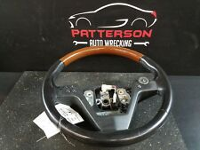 2005 CADILLAC CTS LEATHER WRAPPED STEERING WHEEL WITH WOODGRAIN