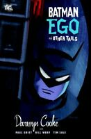 Batman Ego And Other Tails TP by Cooke, Darwyn Book The Fast Free Shipping