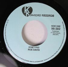 Soul Unplayed 45 Rue Davis - Honey Poo / You Gonna Make A Good Man Do Wrong On K