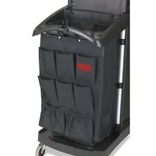 Rubbermaid Commercial Fabric 9-Pocket Cart Organizer - 9T90BLACT