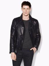 John Varvatos Collection Biker Leather Jacket. Size EU 50 USA 40 BNWT