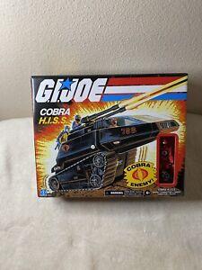 "Hasbro GI Joe 3.75"" Walmart Exclusive Cobra H.I.S.S. Tank W/ Driver Figure New"