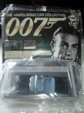 JAMES BOND CAR COLLECTION #132 LINCOLN CONTINENTAL CONVERTIBLE & magazine BNIB