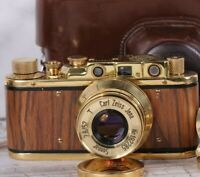 Leica vintage camera 35 mm  with lens Sonnar Carl Zeiss Jena