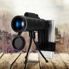 HOT! 40X60 HD Mini 40X Monocular Telescope BAK4Prism Scope + Phone Clip Tripod