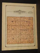 Minnesota Lac Qui Parle County Map Cerro Gordo Township  1913  W3#17
