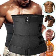 Waist Trainer Men Abdomen Fat Burner Body Shaper Sauna Sweat Belt Weight Loss US