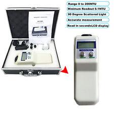 Water Turbidity Meter Digital Turbidimeter Analyzer Nephelometer 0 To 200 Ntu
