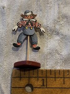 Miniature Raggedy Andy Moveable Toy Artist Signed Karen Markland 1992 EV-B26