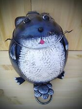 DESIGN POUBELLE POUBELLE À PÉDALE Poubelle chats en métal couleur peint 489