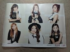 APink Pink LUV Unfolded Poster (Ver. A) w/ Tube