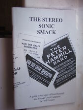 THE STEREO SONIC SMACK tape guide to work of Peter Hammill/VdGG 76pp pb NEW