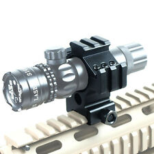 """Laser-Light-Scope Ring Mount with Tri-rail - 30mm to 1"""" Reducer Insert"""