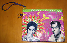 Kitschy Indian BOLLYWOOD Couple Vinyl Clutch Purse Bag Hindi Cinema Movies